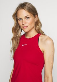 Nike Performance - DRY TANK - Sports shirt - gym red/white - 3
