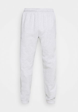 FRENCH TERRY JOGGER - Tracksuit bottoms - white heather