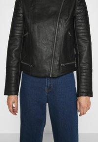 Pepe Jeans - LENNA - Chaqueta de cuero sintético - black - 3
