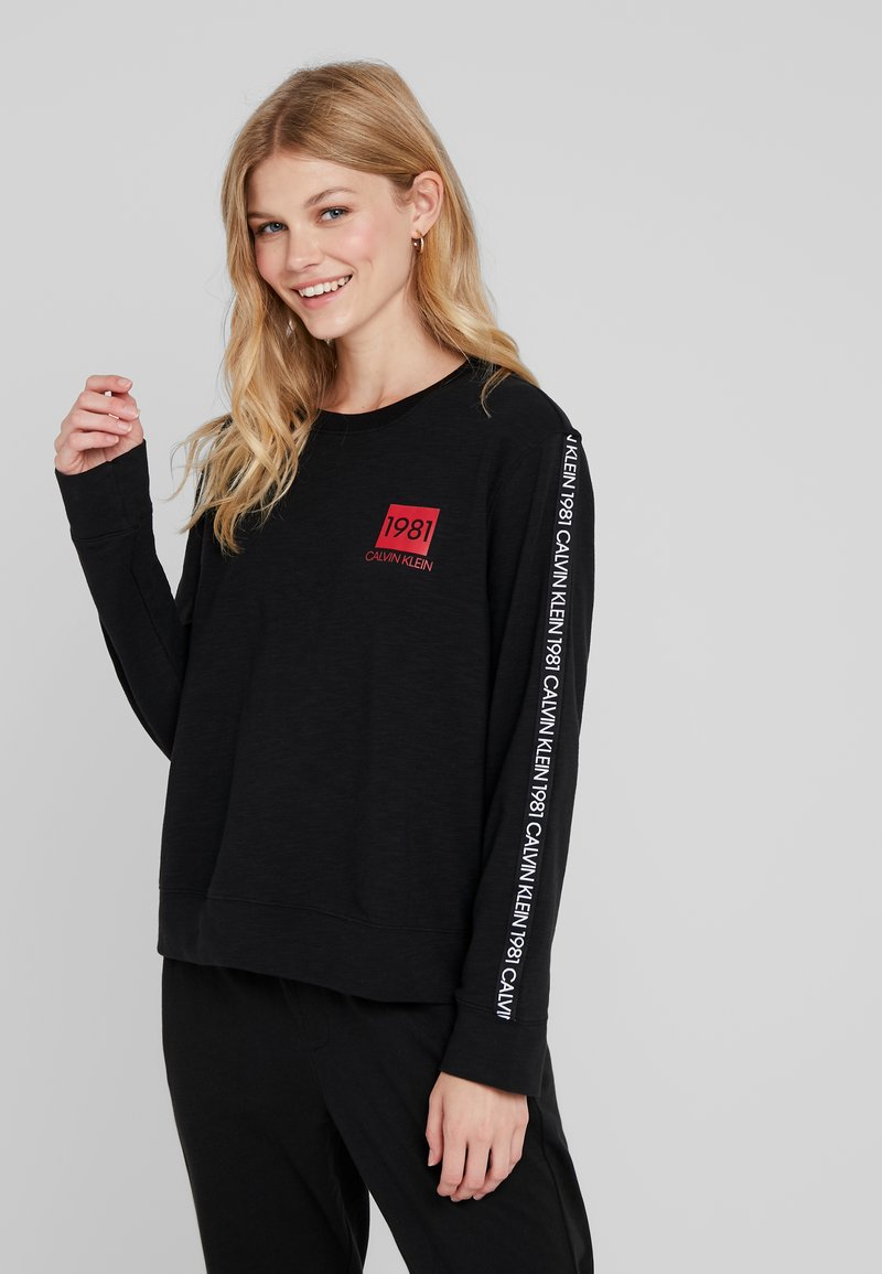 Calvin Klein Underwear - BOLD LOUNGE - Nattøj trøjer - black