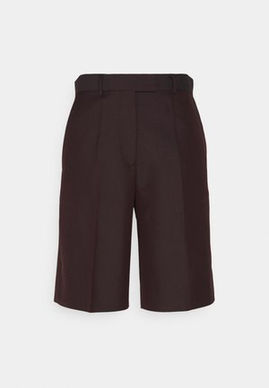 MALGOS - Shorts - dark wood