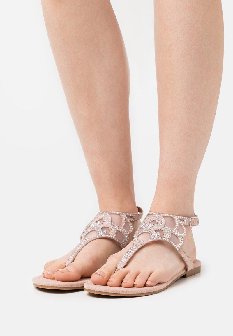 Anna Field - T-bar sandals - light pink