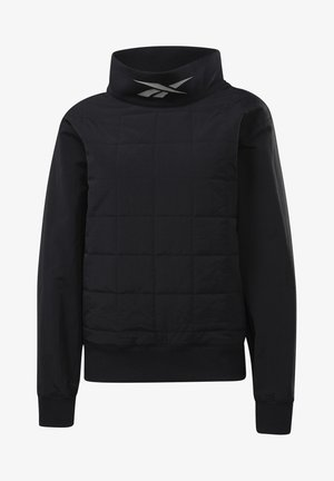 WOR MYT Q4 QUILTED COWL - Sports jacket - black