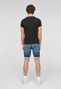 Q/S designed by - Denim shorts - blue - 2