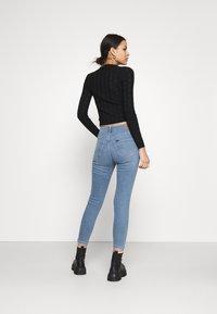 Lee - SCARLETT HIGH ZIP - Jeans Skinny Fit - light lou - 2