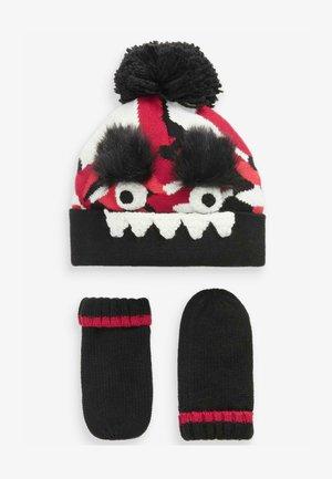 SET  - Gloves - red