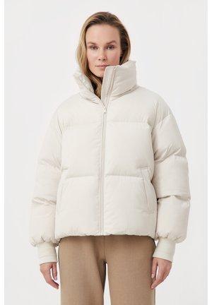 Down jacket - light beige