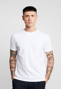Topman - 3 PACK - T-shirt basic - white