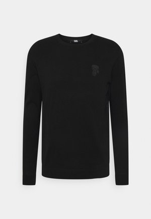 CREWNECK - Strickpullover - black