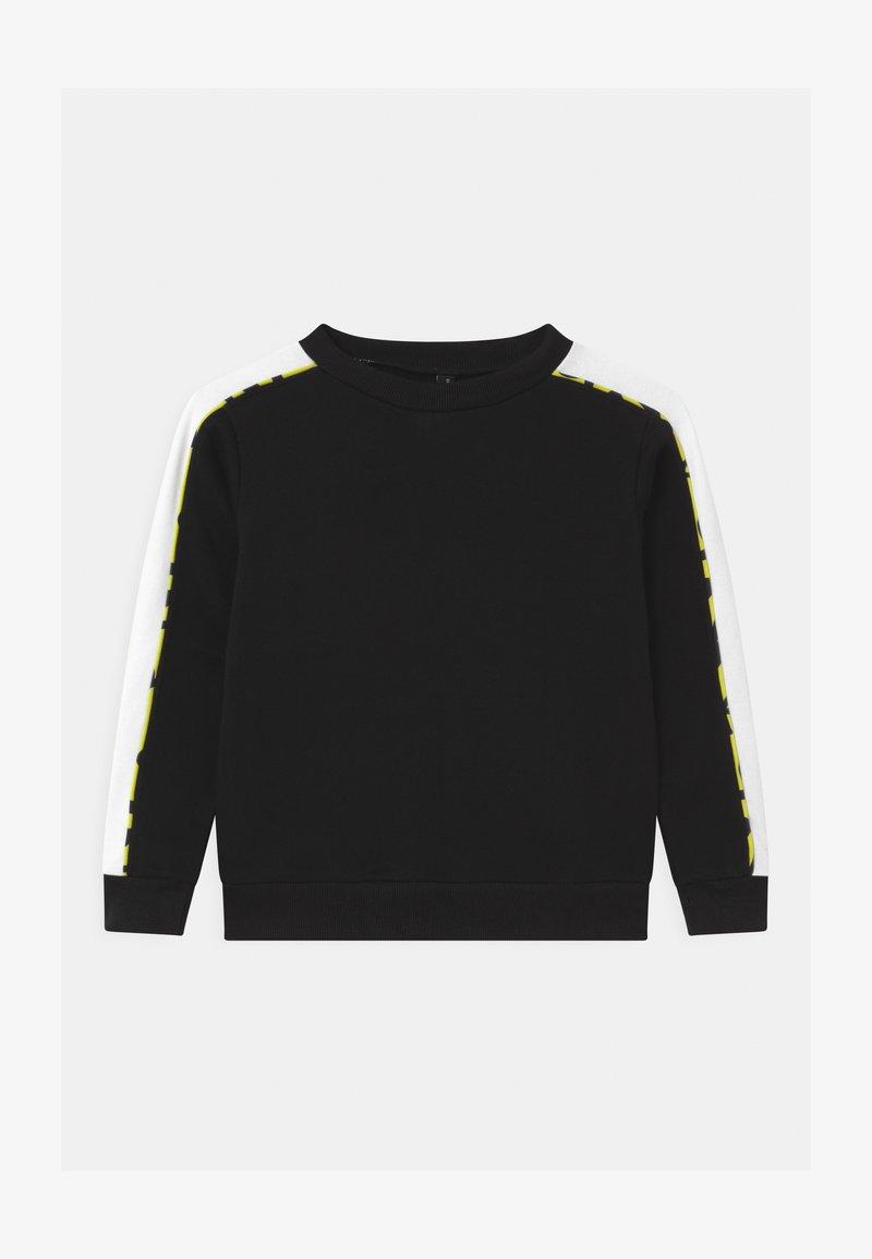 South Beach - COLOR BLOCK CREWNECK UNISEX - Sweater - black