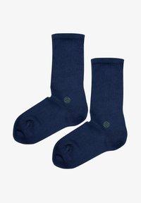 Natural Vibes - SOCKEN 2 PACK AUS BIOBAUMWOLLE - Socks - blue - 1