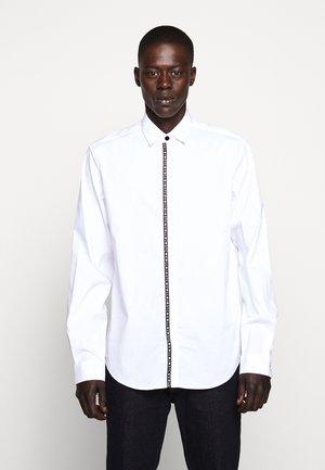 LOGO TAPING - Shirt - white