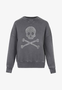 Scalpers - WITH SKULL LOGO AND STUDS - Sweater - grey - 5