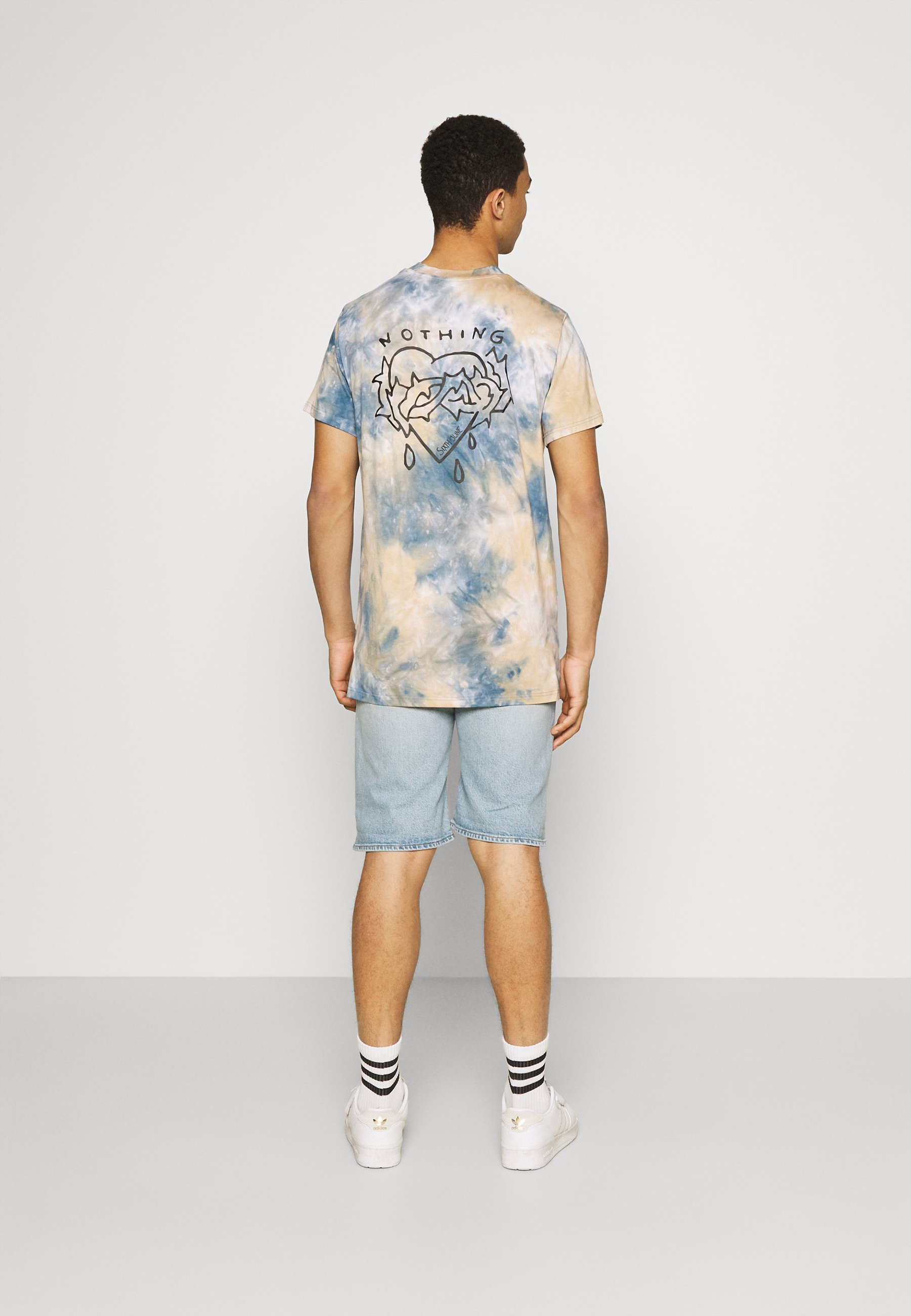 Men CUSTOM TIE DYE TEE - Print T-shirt