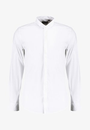 SLIM FIT WITH HIDDEN BUTTONING - Chemise classique - white