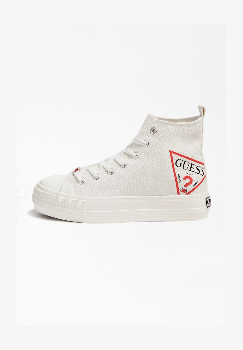 Guess - High-top trainers - weiß