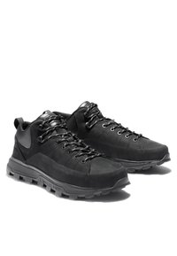 Timberland - TREELINE LOW - Casual lace-ups - blackout nubuck - 2