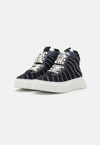 Marni - High-top trainers - dark blue - 1