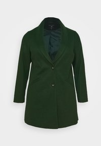 Dorothy Perkins Curve - MINIMAL SHAWL COLLARCROMBIE COAT - Short coat - green - 6