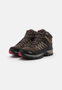 CMP - RIGEL MID TREKKING SHOES WP - Hiking shoes - wood/arena - 1