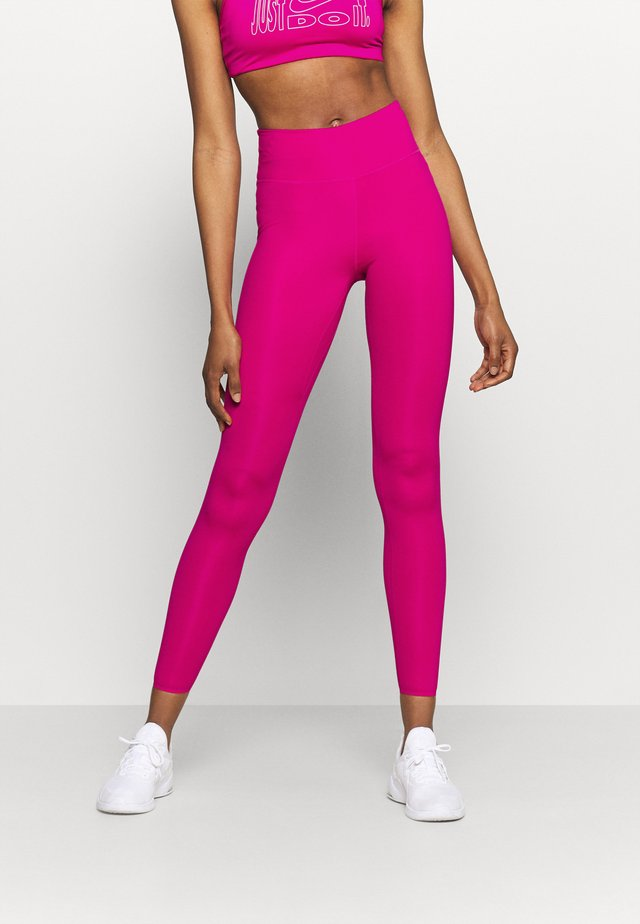 ONE LUXE - Leggings - fireberry/clear