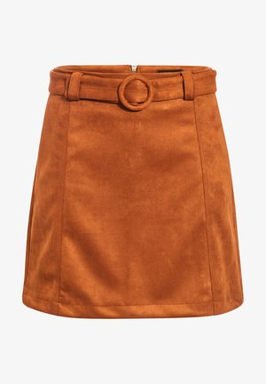 A-line skirt - marron clair