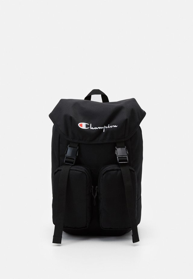 BACKPACK CORDURA  - Rucksack - mottled black