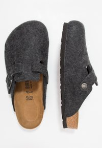 Birkenstock - BOSTON - Slippers - anthracite - 1