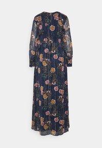 Scotch & Soda - PRINTED MAXI DRESS IN STRIPE QUALITY - Denní šaty - combo - 1