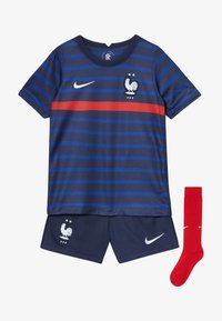 Nike Performance - FRANKREICH FFF LK NK BRT KIT HM SET - Sports shorts - blackened blue/white - 5