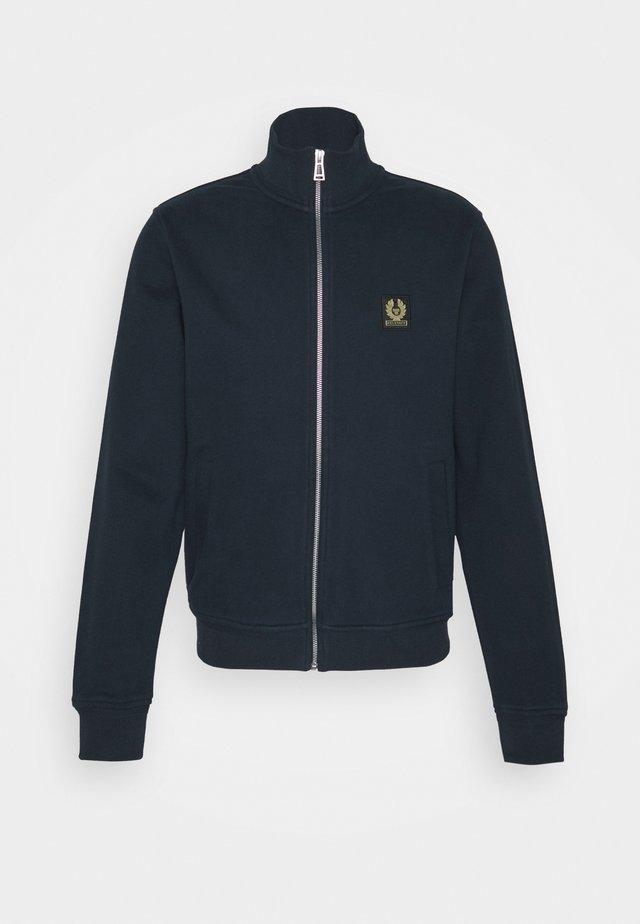 ZIP THROUGH - Zip-up hoodie - dark ink