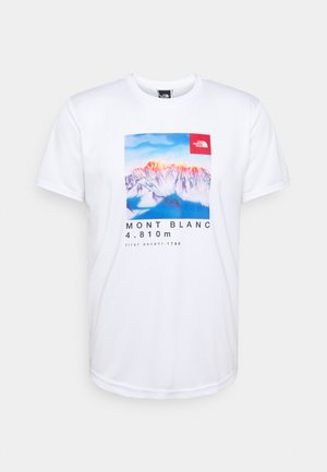 ALPS FIRST ASCENT - T-shirt med print - white