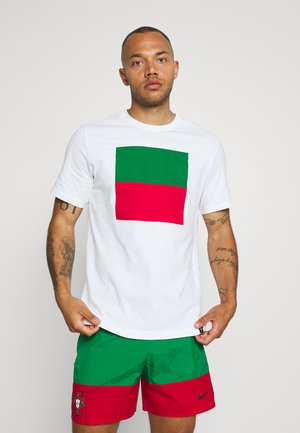 PORTUGAL FPF TEE VOICE - National team wear - white
