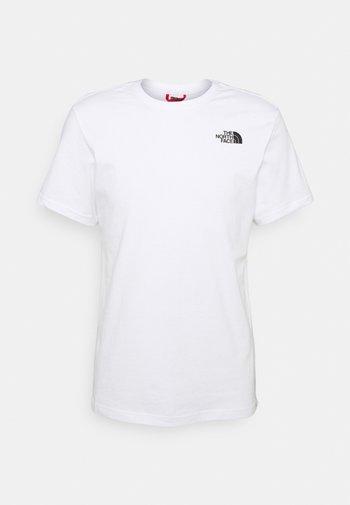 REDBOX CELEBRATION TEE - Print T-shirt - white/black