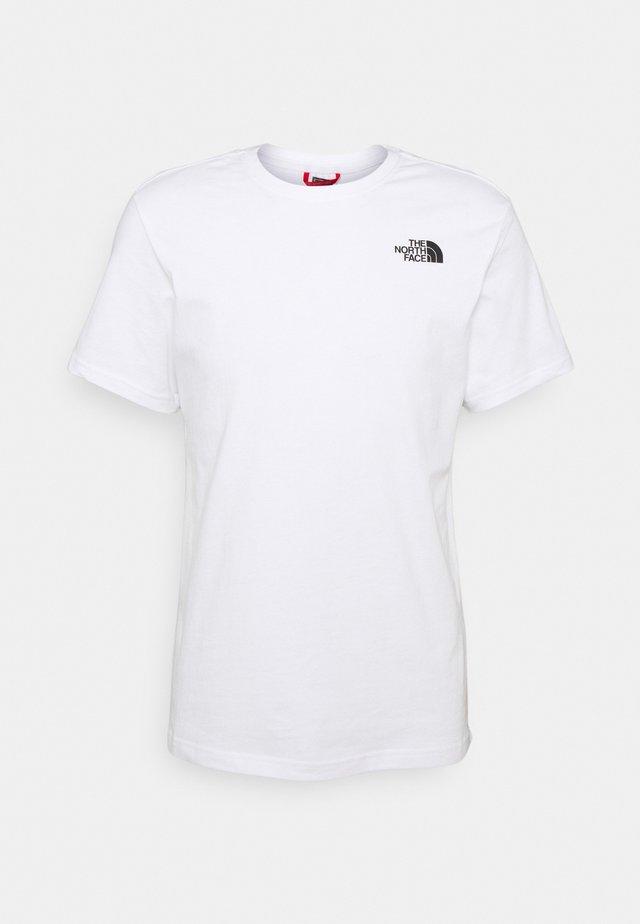CELEBRATION TEE - T-shirt imprimé - white/black