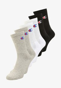 6 PACK - Sports socks - oxford grey/white/natural black
