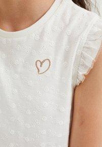 WE Fashion - Korte jurk - white - 2