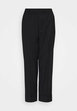 FRANCA COOL TROUSER - Bukser - black