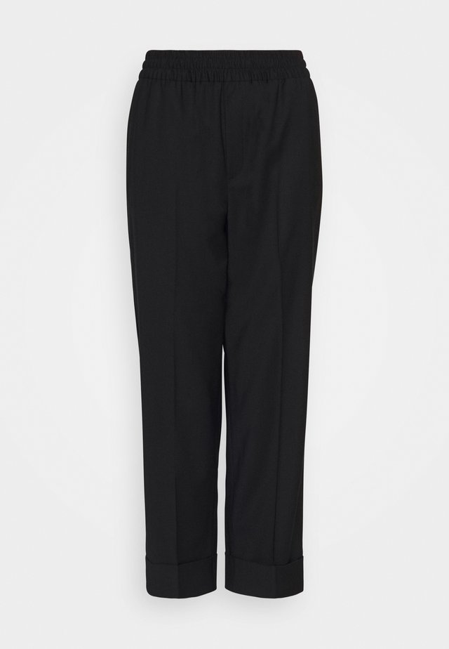 FRANCA COOL TROUSER - Trousers - black