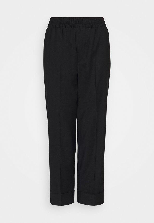 FRANCA COOL TROUSER - Pantalon classique - black