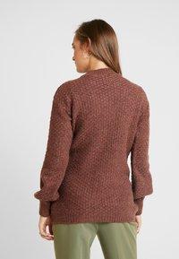 Anna Field MAMA - Pullover - brown - 2
