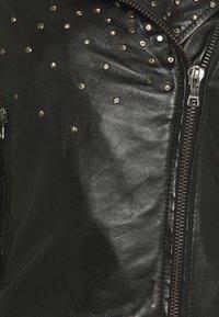 Ibana - BRENN - Leather jacket - black - 2