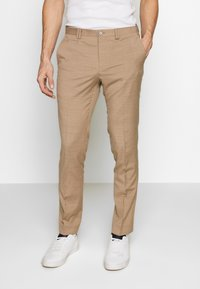 Viggo - OSTFOLD TROUSER - Kalhoty - brown - 0