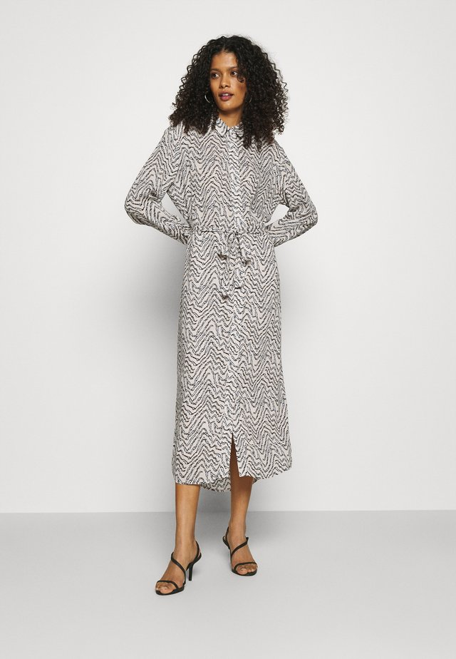BUNJIN DRESS - Shirt dress - crystal