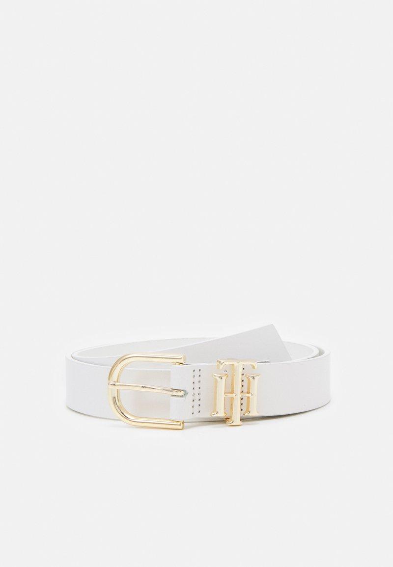 Tommy Hilfiger - LUX LOGO - Belt - white