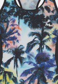 Sunseeker - MIAMI - Costume da bagno - black/turquoise - 2