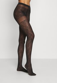 Falke - LEAVES DREAM - Tights - black - 1