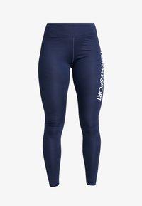 Tommy Sport - HIGHWAIST LEGGING LOGO - Leggings - blue - 4