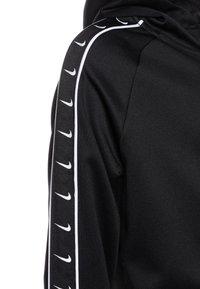 Nike Sportswear - HOODY TAPE - Sweatjacke - black/white - 2