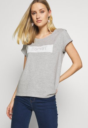 TEE - Print T-shirt - medium grey